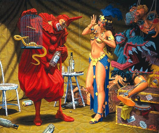 Robert Williams - In the Pavilion of the Red Clown
