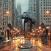 AT-AT in Chicago - Amazing Star Wars Illustration
